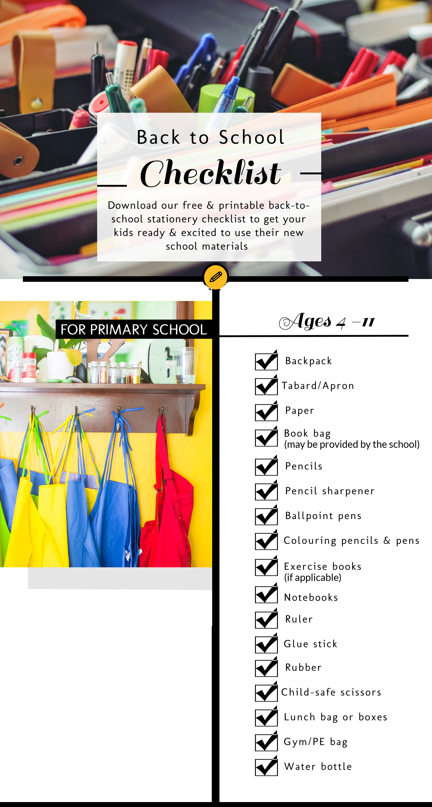Back-to-School Checklist